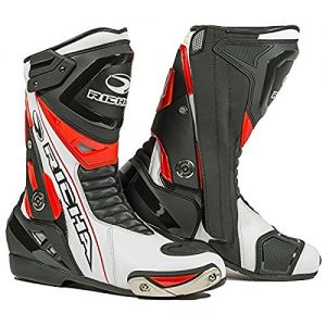 Richa Blade Waterproof Motorcycle Boots Black/White/Red