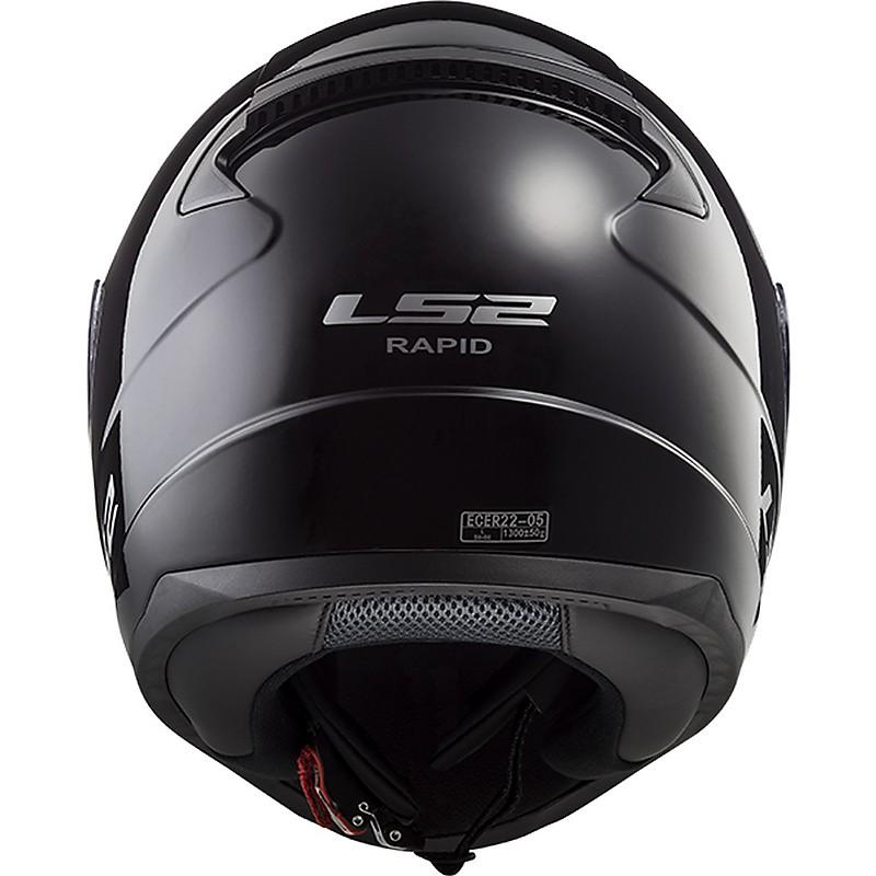 Ls2 Ff353 Rapid Gloss Black Full Face Motorcycle Helmet