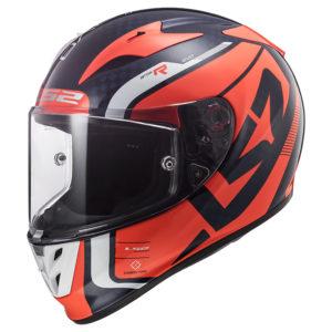 LS2 FF323 Arrow C Evo Sting Orange