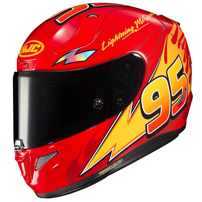 HJC RPHA 11 Lightning McQueen