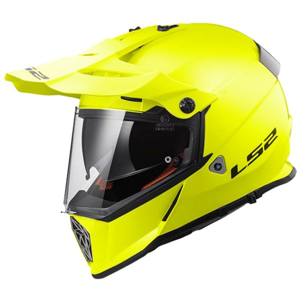 LS2 MX436 Pioneer Hi-Vis Yellow