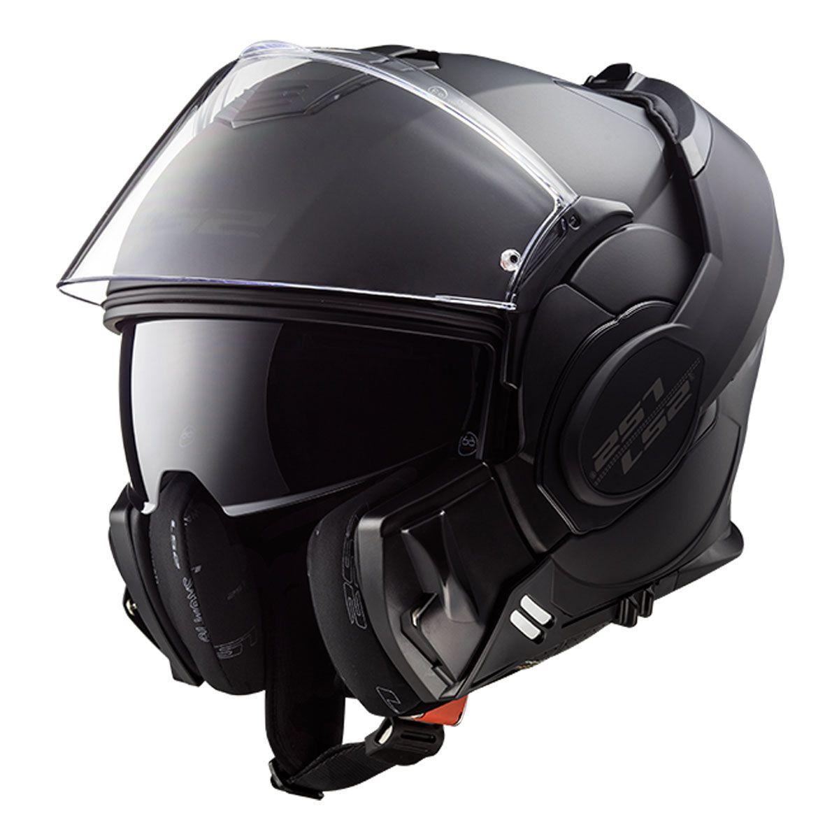 LS2 FF399 Valiant Noir
