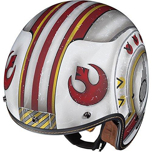 Fighter Pilot Motorcycle Helmet HJC Star Wars F...